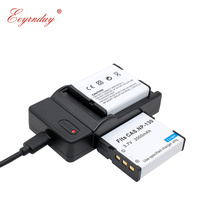 2 Pack CNP 130 NP 130W LI ion Battery + USB Charger for Casio Exilim EX ZR700 EX ZR800 EX ZR850 EX ZR1000 EX ZR1200 EX ZS1500