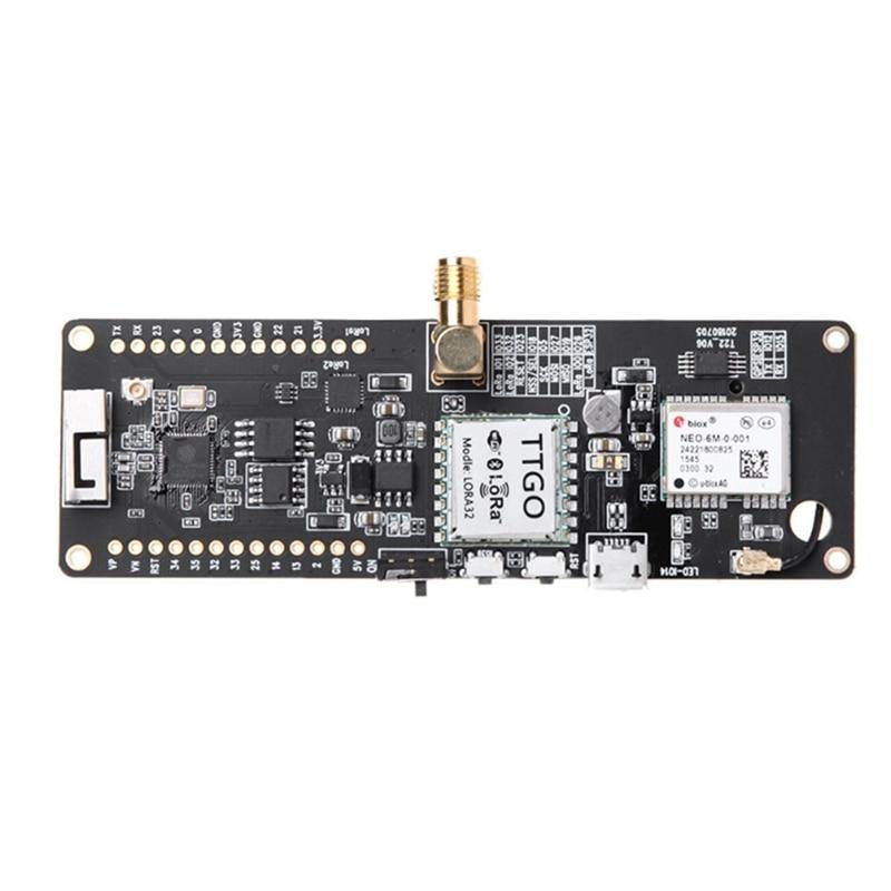 Image 4 - Ttgo T Beam Esp32 868 МГц Wifi беспроводной bluetooth модуль Esp32 Gps Neo 6M Sma Lora 32 18650 Держатель батареи с модулем Softrf-in Контуры from Бытовая электроника