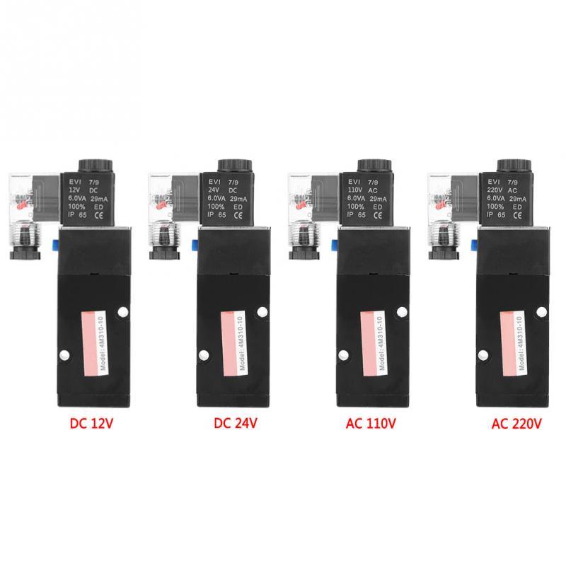 Ventil Fein G3/8 magnet 4m310-8 2 Position 5 Port Pilot-betrieben Elektromagnetische Ventil Sanitär