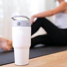 Portable Mini Cold and Warm Fan 2 in 1 Cooling Heating System Air Conditioner Home Heater drop shipping 2019 NEW magic mug