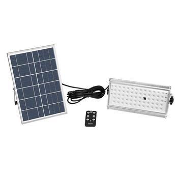12 Вт 65 светодиодный светильник на солнечной батарее с датчиком движения, открытый водонепроницаемый садовый светильник, индукционные наст...