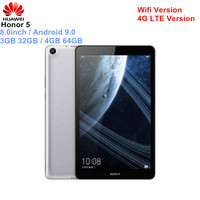 HUAWEI Honor 5 Tablets 8.0 Inch Phablet Android 9.0 Hisilicon Kirin 710 Octa Core 1.7GHz 3GB 32GB/64GB 8.0MP Fingerprint ID PC