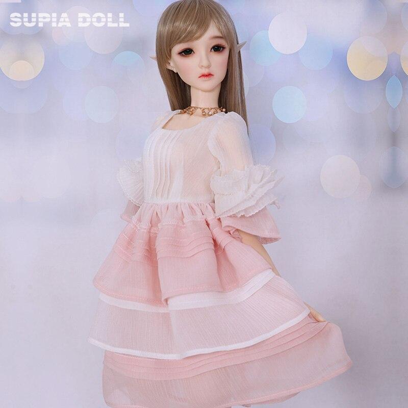 OUENEIFS BJD SD muñecas Supia Haeun 1/3 modelo corporal niñas niños juguetes de alta calidad figuras de tienda-in Muñecas from Juguetes y pasatiempos    3