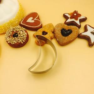 Image 1 - Ramadan Dekoration Sterne Mond Cookies Cutter Mold Eid Mubarak Keks Form Ramadan Kareem Islamischen Kuchen Decor Backform Werkzeuge