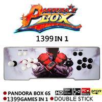 1388 in 1 Pandora's Box 6s Retro Video Games Double Stick Arcade Console Light