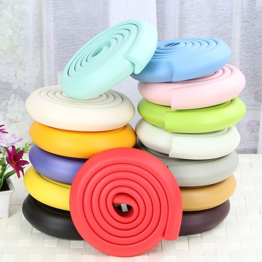 Sponge Bar With Tape Anti Bump Collision Sponge Child Safety Desk Table Corner Protection Baby Infant Protector Sponge Bars
