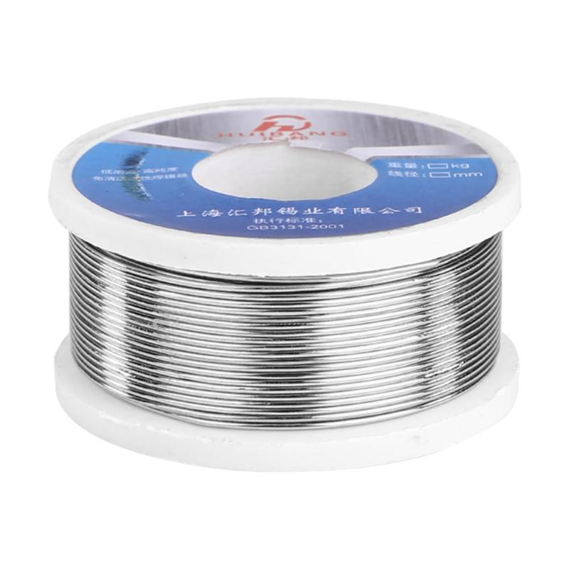 100g/roll 0.8mm/1.0mm/1.5mm/2.0mm Soldering Tin Wire Lead Solder Wire Flux Reel Line Welding Wires