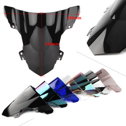 S1000RR Motorcycle Windshield Windproof Windscreen For BMW S 1000 RR 2015 2016 2017 ABS Plastic