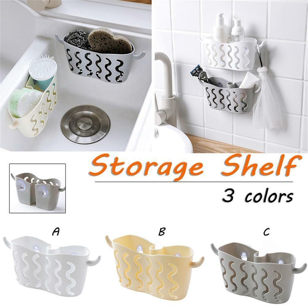 Storage Organizer Rack Strainer Sink Sponge-Holder Soap Kitchen-Accessories Bathroom