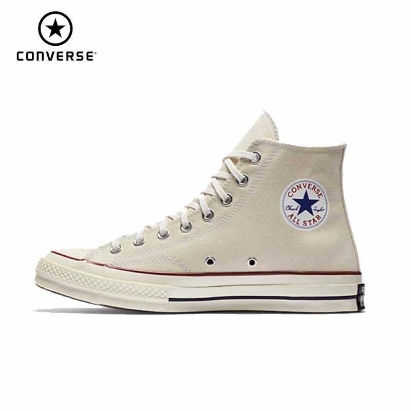 Converse New Original Wear-resisting Leisure Unisex Men s Women Sneakers  High Classic Skateboarding Shoes 144755C b7d314d18dff