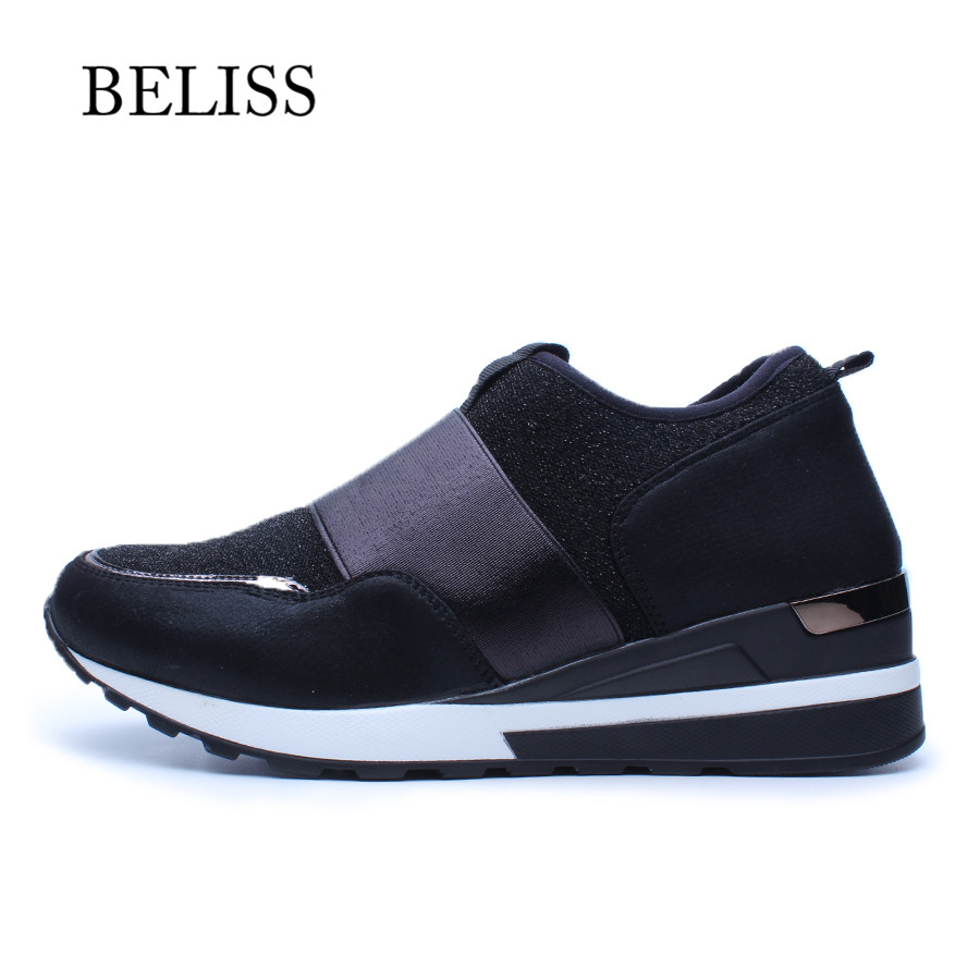 Bout Mocassins Respirant Rond Sur forme Plate Pour Beliss Bande P20 Mode Chaussures Plats Décontractées Élastique Black Femmes Dames Glissent p5xYwOwq0