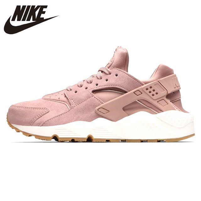 buy online 44bd4 6c948 NIKE AIR HUARACHE RUN Premium Women s Original Sneaker Running Shoes  Breathable Lifestyle Rubber Outdoor Shoes AA0524 600-in Running Shoes from  Sports ...
