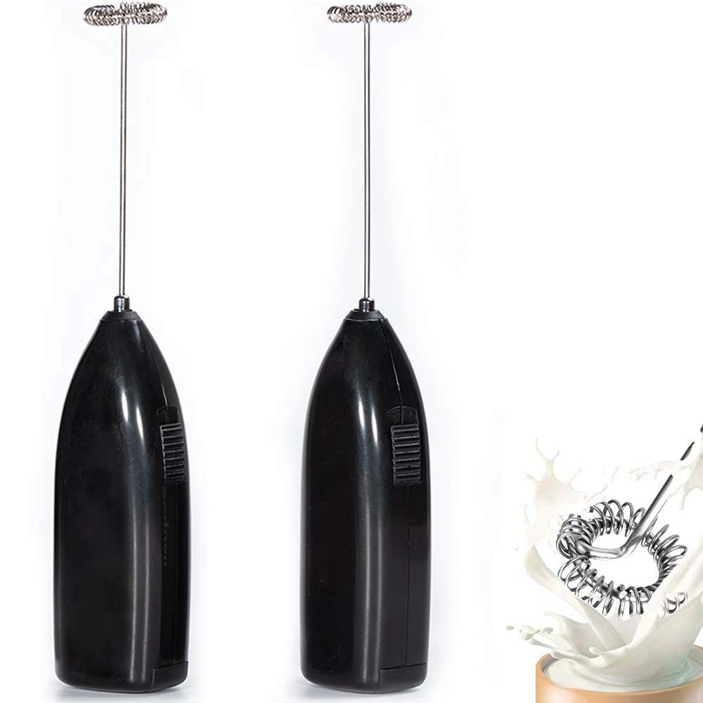 Milk Frother Handheld, Coffee Frother Battery Operated - Electric Whisk Coffee Stirrers, Milk Foamer, Mini Mixer Useful G