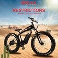 Электрический скутер 500 Вт 26 дюймов двухколесный Электрический велосипед 48 В 10.4AH 350 Вт Мощный электрический велосипед для взрослых