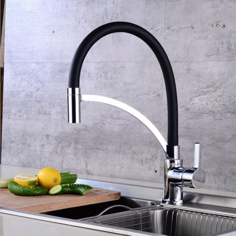 Kitchen pull faucet spring faucet sink sink faucet hot and cold faucetKitchen pull faucet spring faucet sink sink faucet hot and cold faucet