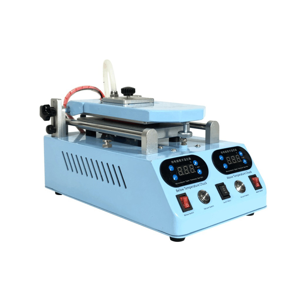 Automatic LCD Separator Screen Middle Frame Bezel Separating Heating Machine For Flat Curved Screen Glass Replace