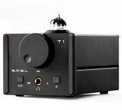 SMSL T1 DAC DSD512 Tube Headphone Amplifier 384KHZ/32Bit  AK4490EQ+CM6632A OPTIC/Coaxial/XMOS/USB DAC Digital Tube Amp