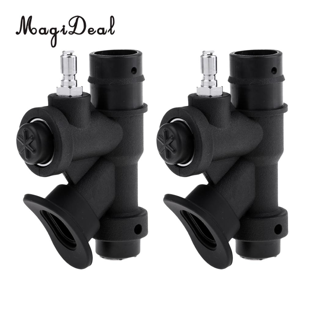 Set 2 Professional Diving BCD Power Inflator Buoyancy Compensator Handle For Scuba Dive Standard 1 Inch Inflator Hose Equipment