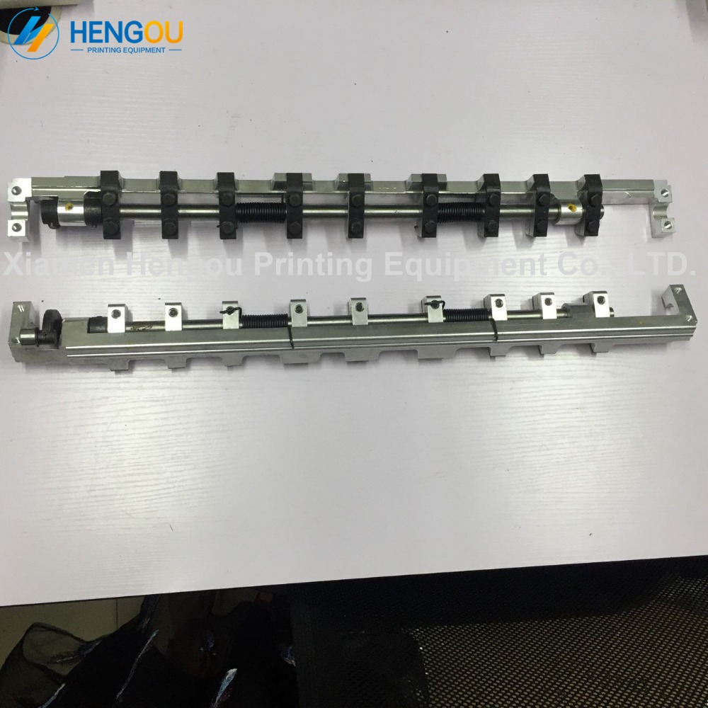 4 pieces high quality Heidelberg GTO46 delivery gripper bar 42.014.003F offset printing spare parts