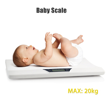 Newborn Baby Pets Infant Scale Abs Lcd Display Weight Toddler Grow Electronic Meter Digital Professional Up To 20Kg стоимость