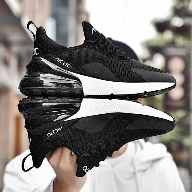 2018 Zapatillas Marque Humaine Grande De Hommes Sneakers Qualité Chute Designer Mode Hombre Chaussures Sport Race Respirant 270 ZuOPkXi
