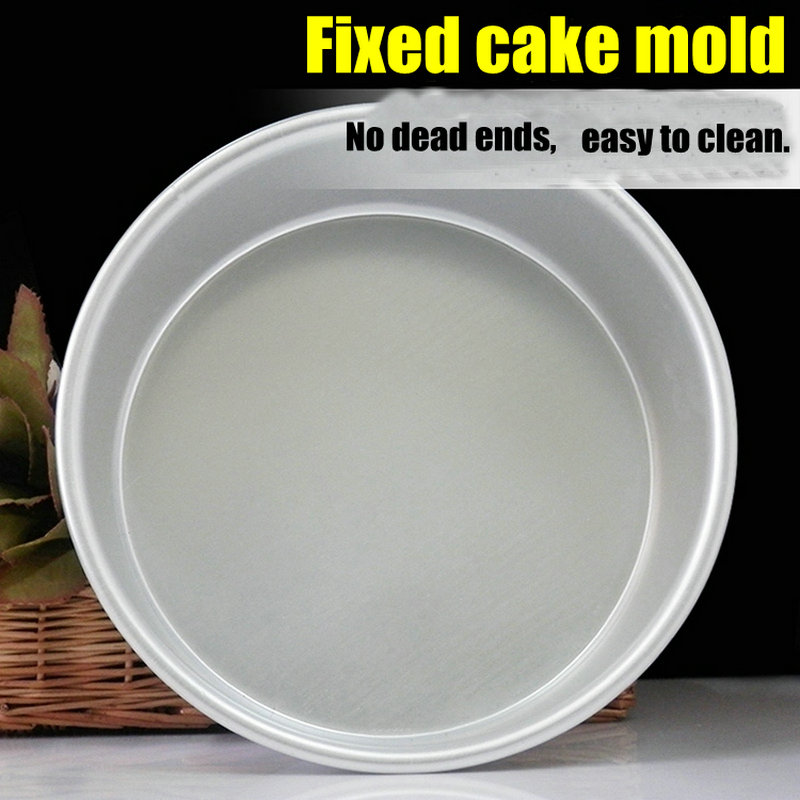 Round 4/5/6/7/8/9/10 Inch Aluminum Alloy Die  Cake Mold Tool Baking Mould Pan Pattern Bakeware cozinha