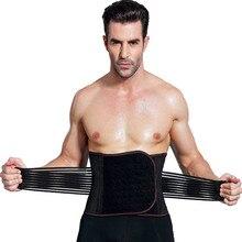 Male Waist Trainer Cincher Corset Men Body Modeling Belt Tummy Slimming Strap Fitness Trimmer Shapewear