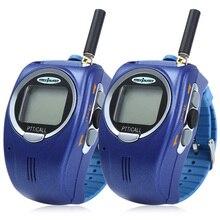 2 шт наручные часы в форме рации 22 канала UHF батареи детская рация