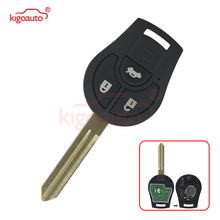 Kigoauto Car Remote Key Suit for NISSAN FCC ID CWTWB1U761 March Qashqai Sunny Sylphy Tiida X-Trail 433MHz ID46 Chip car scratch repair pen auto paint pen pearl white for nissan qashqai x trail sylphy teana sunny tiida livida geniss march