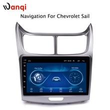 Горячая продажа 9 дюймов Android 8,1 автомобильный Dvd Gps плеер для Chevrolet SAil 2010-2013 Встроенный радио видео Навигация Bt Wifi
