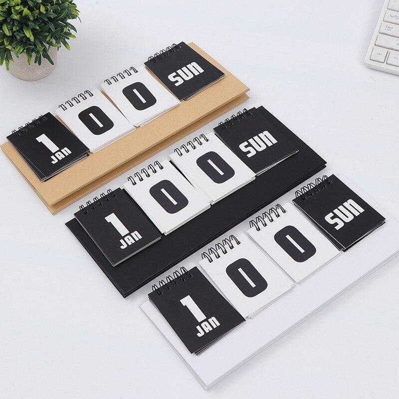 2019 agenda quotidien bureau calendrier de bureau créatif bureau décoration fournitures planification scolaire organisateur calendrier perpétuel 00012