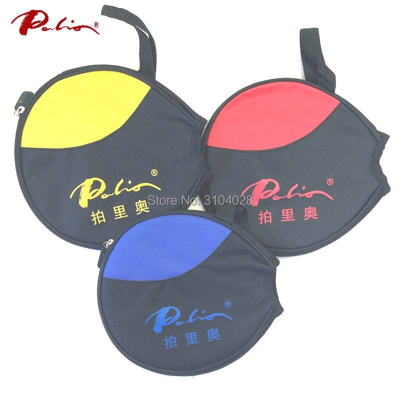 Palio Official Table Tennis Case For Table Tennis Racket Round Case For Only One Racket For Ping Pong Game