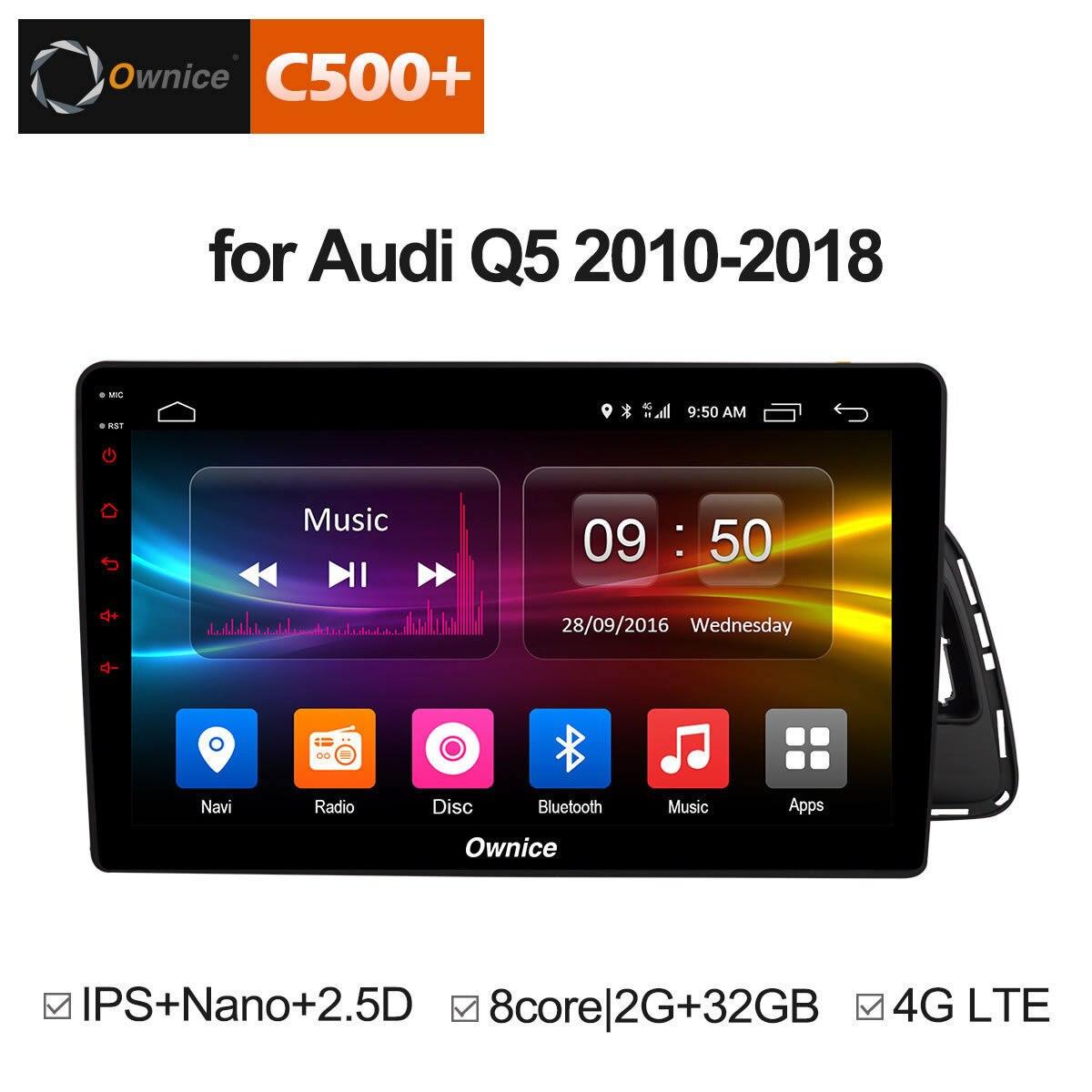 For Audi Q5 2010 2011 2012 2013 2014 2015 2016 2017 2018