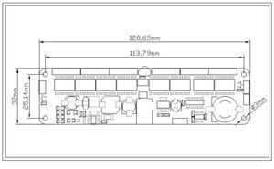 Image 3 - DYKB 6 bit kızdırma saati anakart çekirdek kurulu kontrol paneli uzaktan kumanda evrensel in12 in14 in18 qs30 1 kontrol dc 9V 12V