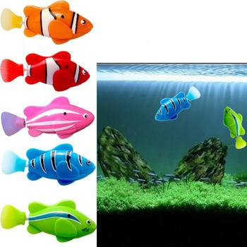 2019 New Funny Swim Electronic Fish Toy Activated Battery Powered Pet For Fishing Tank Decorating Fish
