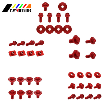 Dirt Bike Motocycle Plastic Body Parts Guard Screw Bolt For Honda crf250r crf 250r 2006 2007 2008 2009 image