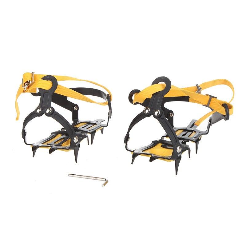 Sangle Type Crampons ceinture de Ski haute Altitude randonnée antidérapante 10 Crampons pour hiver Skiin extérieur