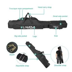 Image 3 - Lixada 100/130/150cm balıkçı çantası Oxford bez katlanır olta makara çanta olta takımı saklama torbaları seyahat taşıma çantası Pesca