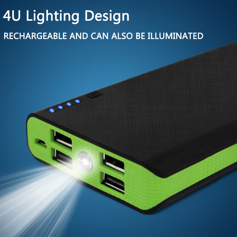 Humor Leory Led 5v Diy Power Bank Dual Usb 6x18650 Battery Case Charging Power Supply Powerbank Charger Cover External Battery Chevrolet