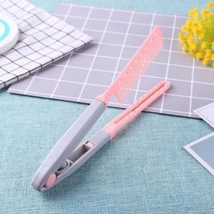 Image 3 - Портативный выпрямитель для волос V образный выпрямитель для волос складной Расческа для самостоятельной сборки
