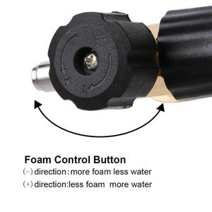 Image 3 - Pistola de espuma de alta pressão, para gerador de lavagem de carro, pistola pulverizadora de água, lavadora de carros, limpeza, jato de lança de espuma para karcher