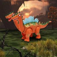 Brachiosaurus Children Electric Walking Projection Dinosaur Toy For Jurassic Period Animal Model Toy