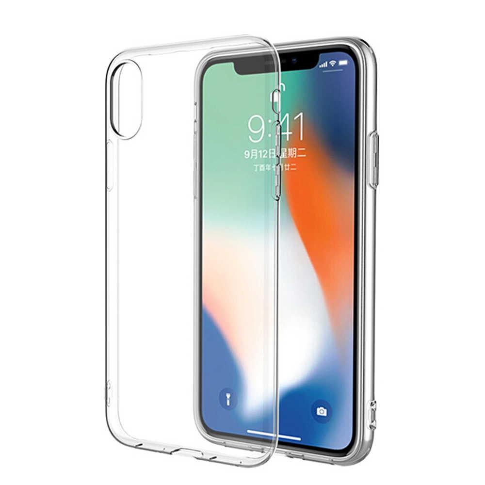 Ультратонкий прозрачный термопластичный полиуретан силиконовый чехол для iPhone XS MAX XR 6 7 6S Plus защитный резиновый чехол для телефона iPhone 8 7 Plus