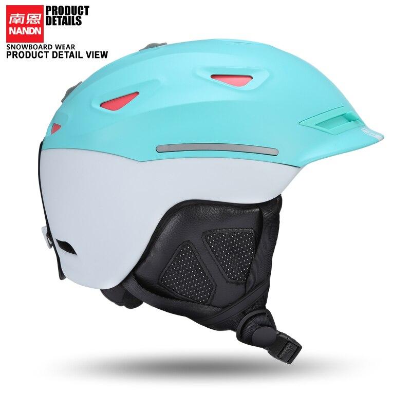 Brillant Nandn Ski Helm Ultraleicht Und Integral Geformten Professionelle Snowboard Helm Männer Skating/skateboard Helm