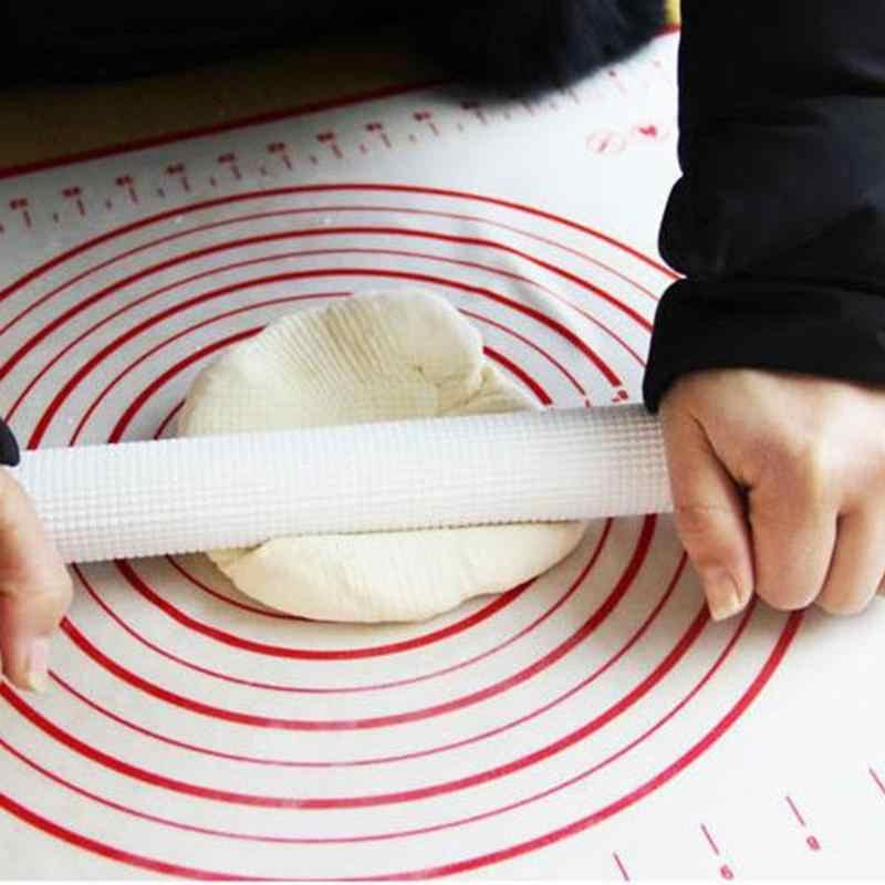 Силиконовый коврик для выпечки изготовитель коржей для пиццы Кондитерские Кухонные гаджеты кухонные принадлежности для выпечки принадлежности Лот 29x26 см