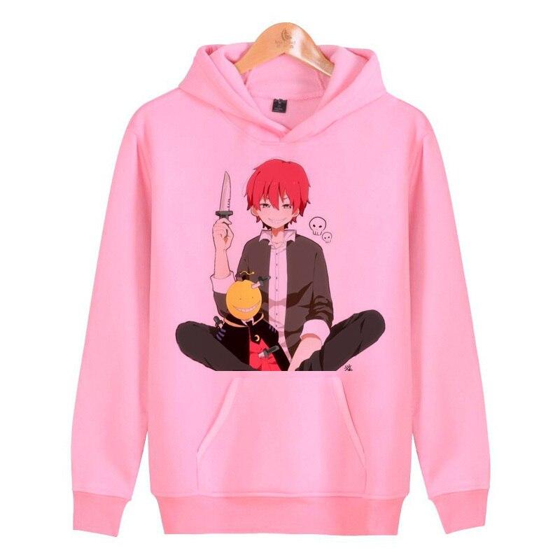 karma akabane hoodies sweatshirts hoddies male hop homme streetwear harajuku hip men/women pullover J1524