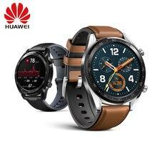Оригинальные часы HUAWEI GT Спортивные часы 1,39 »свободное закаленное стекло Heartrate отчет монитор сна AMOLED экран gps