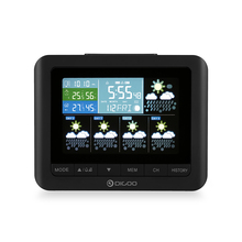 Digoo DG-TH88 Temperature Sensor Wireless Forcast Version Weather Station Color Screen Pressure Hygrometer Humidity Thermometer