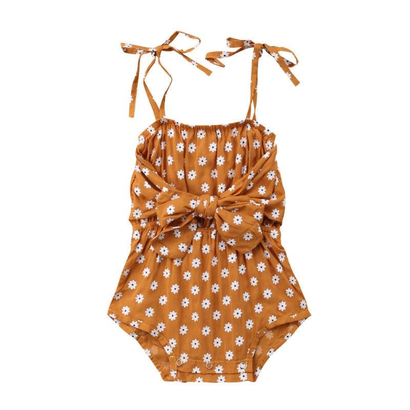 b49895622 Recién Nacido bebé niñas Correa lazo Floral Body de encaje sin mangas mono  Bebe chica de