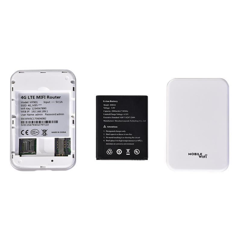 4G Wifi Router Mini Router 3G 4G Lte Wireless Portable Pocket Wi Fi Mobile Hotspot Car Wi-fi Router With Sim Card Slot